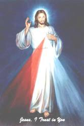"The ""Hyla"" Image of the Divine Mercy by Weber."